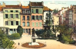 France - Meuse - Verdun - Place Chevert - Ecrite, Colorisée - Verdun Tourisme - 4549 - Verdun
