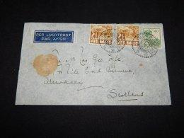 Netherlands Indies 1935 Air Mail Cover To Scotland__(L-11165) - Niederländisch-Indien