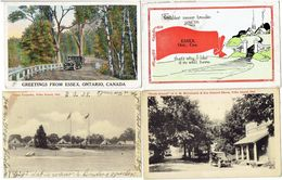 Greetings From ESSEX, Ontario Canada - 4 Cards - Altri
