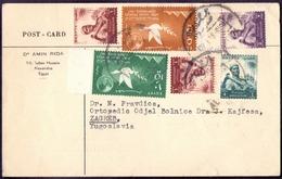 EGYPT - POST CARD To YUGOSLAVIA  -1957 - Egypt