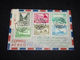 Peru 1938 Air Mail Cover To Germany__(L-10984) - Peru