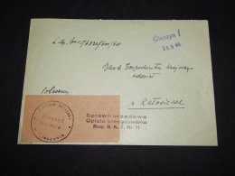 Poland 1945 Cieszyn Cover__(L-10923) - 1944-.... Republik