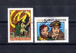 FRANCE Yvert N° 3669/70 Black Et Mortimer Oblitération D'époque Lisible Et Bien Centrée - Personnalisés