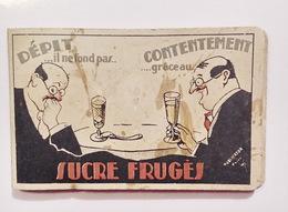 Carnet  De Commande  Sucre Frugès -  Publicator Bordeaux - Other Collections