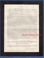 Document De 1911 - Monsieur Hyppolyte Marie LE BESCHU De CHAMPSAVIN Officier Cavalerie, Maire De SAINT GERMAIN Des RIVES - Documents Historiques