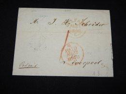 UK 1846 Beldast Letter To Liverpool__(L-12328) - Gran Bretagna