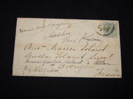 UK 1881 Letter To France__(L-12150) - 1840-1901 (Victoria)