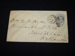 UK 1893 Bexley Worth Blue Stationery Envelope__(L-12271) - Luftpost & Aerogramme