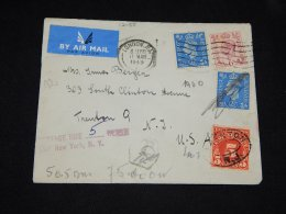 UK 1949 London Postage Due Cover To USA__(L-12085) - 1902-1951 (Re)