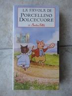 La Favola Di Porcellino Dolcecuore - Beatrix Potter - Videocassette VHS