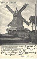 Orig.AK Gruss Aus Clausthal ,Windmühle     Mühle Moulin ,Molen,Feldpost - Moulins à Vent