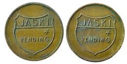 02371 GETTONE JETON TOKEN VENDING DISPENSER MACHINE JASKI VENDING TOKEN - Unclassified