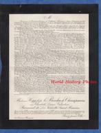Document De 1923 - PARIS - Elisabeth Léonie Valentine BERNARD De LA VERNETTE SAINT MAURICE , Le BESCHU De CHAMPSAVIN - Documents Historiques