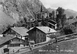 "07422 ""(AO) RHEMES ST. GEORGES M. 1171 - CAPOLUOGO""  VERA FOTO, FOT. BERARD, S.A.C.A.T. CART NON SPED - Italia"