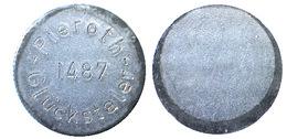 03164 GETTONE JETON TOKEN ADVERTISING GAMING PIEROTH 1487 GLUCKSTALER - Unclassified