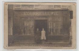 "1 Carte Photo à Identifier ?? "" Bourrellerie Pautral ? "" - A Identifier"