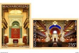 Hungary - 2017 - Synagogues Of Hungary - Győr, Pécs - Mint Stamp Set - Ungarn
