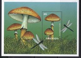 1 Feuillet ** De Grenada  (voir Tous Les Timbres Champignon Dans Ma Boutique) - Champignons