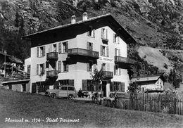 """07423 """"(AO) PLANAVAL M. 1554 - HOTEL PARAMONT"""" ANIMATA, AUTO,  VERA FOTO, FOT. BERARD, S.A.C.A.T. CART NON SPED - Italia"""