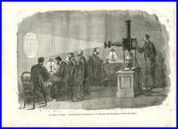 Gravure-histoire De La Revolution-1870-71-pigeon Voyageur - Estampes & Gravures