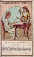 - CHOCOLAT FAVARGER - Le Pendule De Foucault - - Chocolate