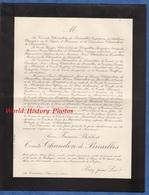 Document Ancien De 1917 - CHAOURCE , La Cordelière - René François Philibert Comte De CHANDON De BRIAILLES - Documents Historiques