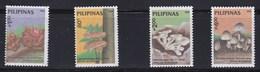 4 Timbres  ** Des Philippines  (voir Tous Les Timbres Champignon Dans Ma Boutique) - Champignons
