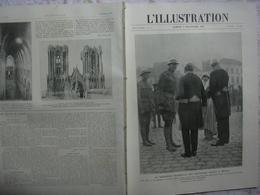 L'ILLUSTRATION 3948 Belgique/ DENAIN/ LILLES/ REIMS/ ARTILLERIE LOURDE/ GRIPPE 2 NOVEMBRE 1918 - L'Illustration