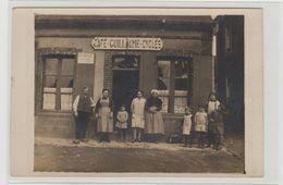 """1 Carte Photo à Identifier ?? """" Café Cycles Guillaume Dentiste Le Lundi """" - A Identifier"""