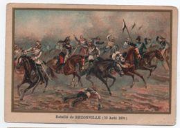 Militaria/Guerre De 1870/Image Pédagogique/Bataille De Rezonville/Dessinateur Germain/Vers 1900 IMA268 - Trade Cards