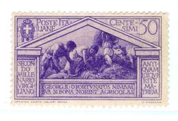 ITALIA, ITALY, REGNO, KINGDOM, COMMEMORATIVO, VIRGILIO, 1930, 50 C. FRANCOBOLLI USATI Sassone 286   Scott 252 - 1900-44 Vittorio Emanuele III