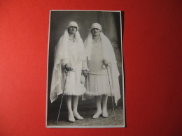 CARTOLINA FOTOGRAFICA  GEMELLE E BUSANA IVREA   FORMATO PICCOLO D - 3258 - Fotografia