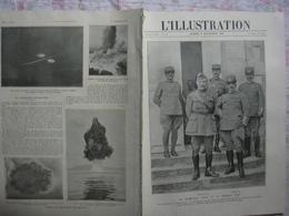 L'illustration 3949 FOCH/ DIAZ/ Belgique/ HANSI/ GUILLAUME II/ GRIPPE 9 Novembre 1918 - L'Illustration