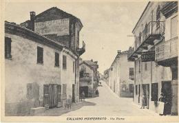 Calliano Monferrato(Asti)-Via Roma - Asti