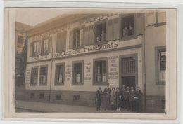 """1 Carte Photo à Identifier ?? """" Société Française De Transports Gondrand Frères N° 3 """" Starsbourg Ou Marseille ?? - A Identifier"""