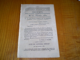 Mâcon 1832: Drapeau De La Garde Nationale.Dépenses Colombier Sous Uxelles Pour Traitement Des Gardes Forestiers - Documents Historiques