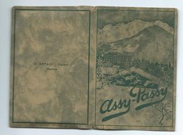 POCHETTE De 12 PHOTOS 11 X 6,5 Cm De ASSY-PASSY ( Haute Savoie 74)..4 Scans - Lieux