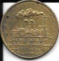 Inauguration Du Chemin De Fer Internationale Belge-Rhénan 15 Octobre 1843 - Unclassified