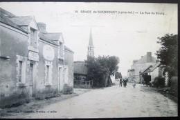 44   GRACE De GUENROUET  Rue Du Bourg CAFE TABAC Bouvron Blain Campbon Quilly - Otros Municipios