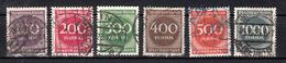 Duitse Rijk 1923 Mi Nr 268 + 273 Gestempeld - Duitsland