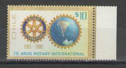 Chile - ROTARY 1980 MNH - Chile