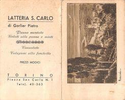 "07434 ""CALENDARIETTO 1937 - LATTERIA S. CARLO DI GORLIER PIETRO - TORINO"" VEDUTA ASSISI - Calendari"