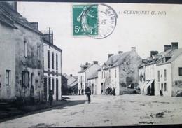 44    Carte RARE  GUENROUET  Baron éditeur  1908  Plessé Dréfféac Blain St Gildas - Otros Municipios
