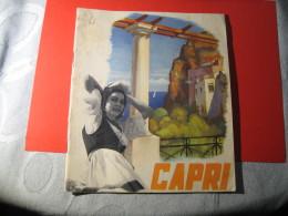 DEPLIANT CAPRI - Tourism Brochures