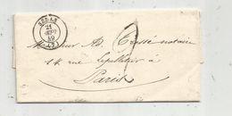 Lettre , 1849, SEDAN - Postmark Collection (Covers)