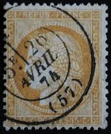 CERES N°59  Ob . - 1871-1875 Cérès