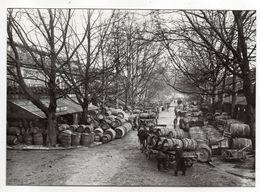 PARIS 12° -- La Halle Au Vin (animée  , Attelage )  ---PARIS  1900 -- Carte Glacée - District 12