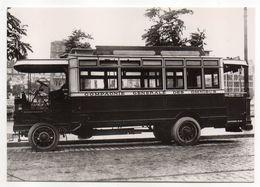 PARIS  -- Omnibus  Madeleine-Bastille    ---PARIS  1900 -- Carte Glacée - Public Transport (surface)
