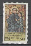 Chile - DON BOSCO 1988 MNH - Chile