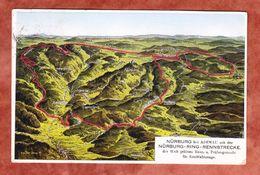 Nuerburgring, Rennstrecke, MiF Ebert U.a., SoSt Adenau, Nach Frankfurt 1929 (46930) - Ansichtskarten
